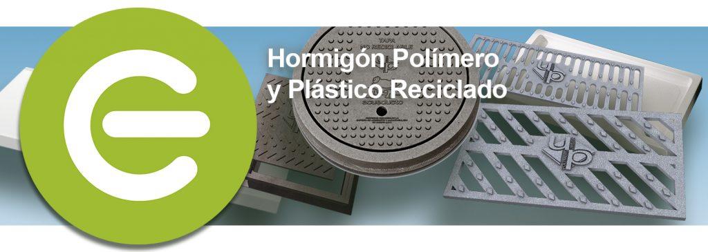 Hormigon polímero y plástico reciclado